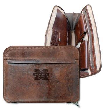 Marshall University Tuscan Leather Portfolio