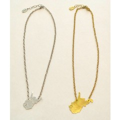West Virginia Bernadette State Necklace by Julio