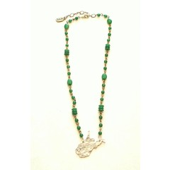 West Virginia Chart Necklace by Julio