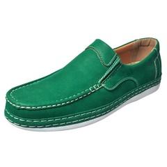 Men's Green Slip-On Loafer