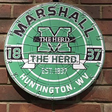 Marshall University Collegiate Dartboard