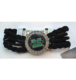 Marshall University The Herd Braided Bracelet