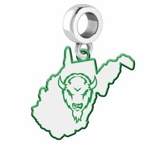 Collegiate Bead Company Marshall University Logo State Bead