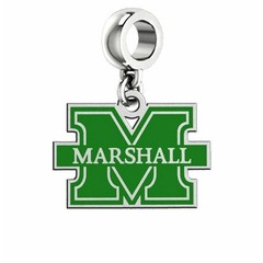 Collegiate Bead Company Marshall University Enamel Cut Out Logo Dangle