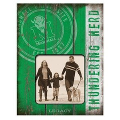 Marshall University Sideline & Seal Picture Frame