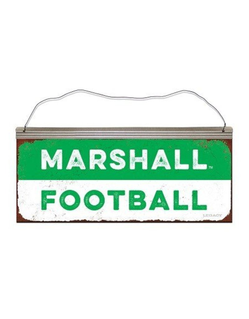 Marshall University Football Tin Sign