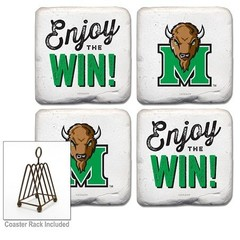 "Marshall University ""Enjoy the Win"" Coasters"