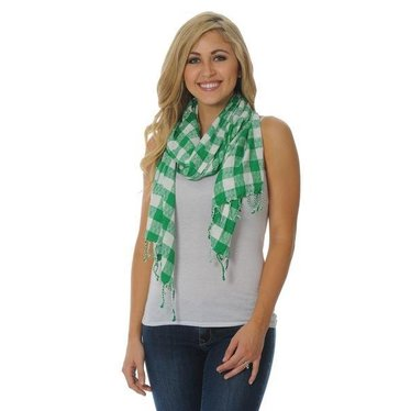 University Girls University Girls Marshall University Jacquard Scarf