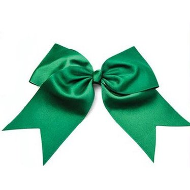 Solid Green Hair Bow