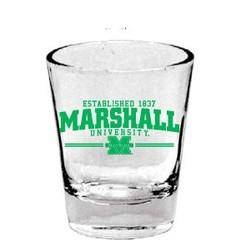Marshall University 1.5oz Collector Shot Glass