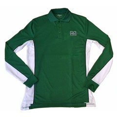 Colosseum Marshall University Chip Shot Long Sleeve Polo