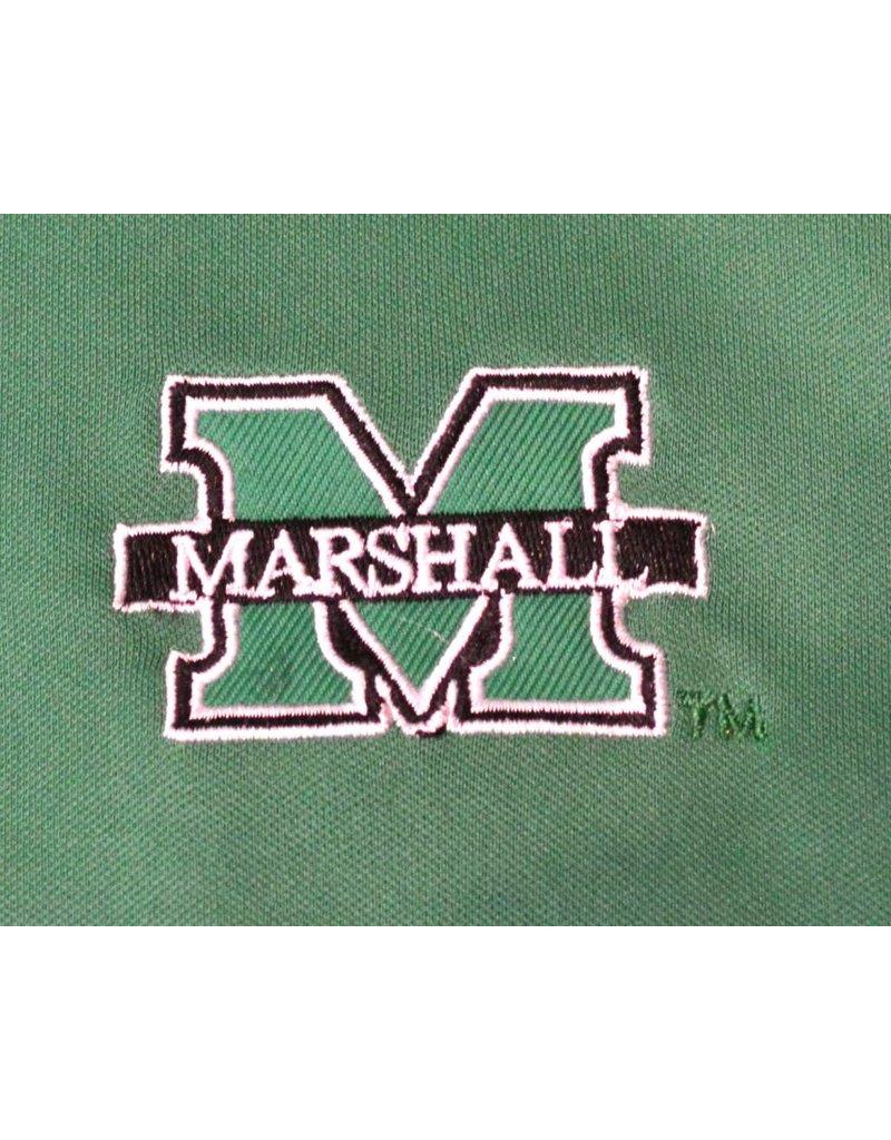 Colosseum Marshall University Chip Shot Long Sleeve Polo