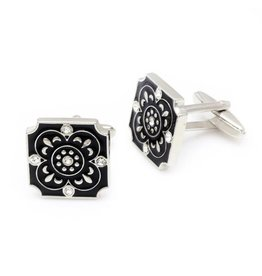 Floral Square Cufflinks