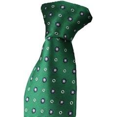 Offset Dots Tie