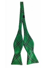 Collegiate Tartan Marshall University Tartan Satin Bow Tie