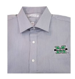 Marshall University Feather Stripe Dress Shirt