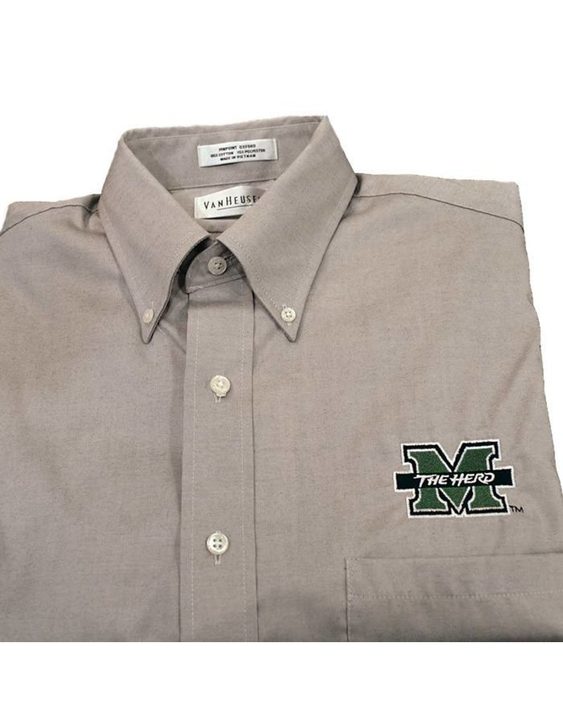 Marshall University Pinpoint Oxford Dress Shirt