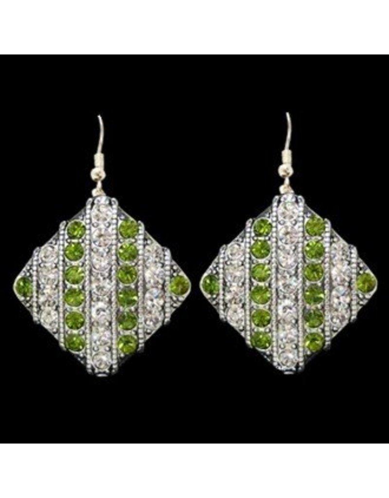 Team Spirit Diamond Earrings