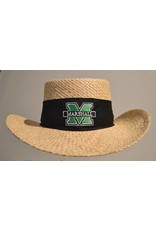 Marshall University Packable Straw Hat