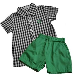 Old Main Exclusive Marshall University Check Shorts Set