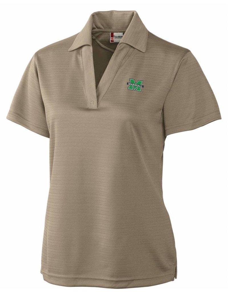 Clique Marshall University Women's Plus Size Polo