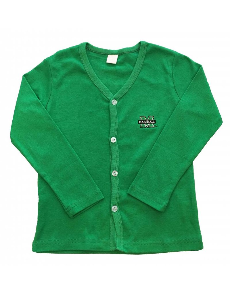 Old Main Exclusive Marshall University Children's Cotton Cardigan
