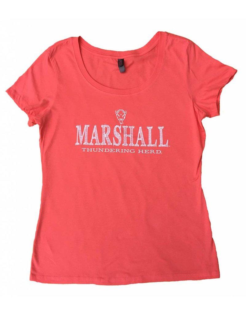 CI Sport Marshall University Ladies Parallax Tee Shirt