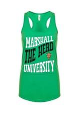 CI Sport Marshall University Ladies Transit Tank