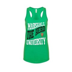 CI Sport Marshall University Ladies Transit Tank