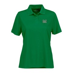 Marshall University Women's Vansport™ Omega Mesh Tech Polo