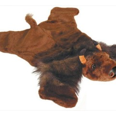 Buffalo Plush Rug