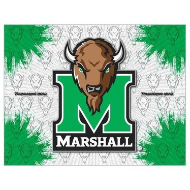 Marshall University Canvas Art  15X21