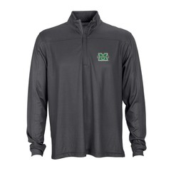 Marshall University Herringbone 1/4-Zip Pullover