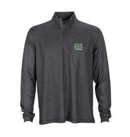 Marshall University Herringbone 1/4-Zip Pullover