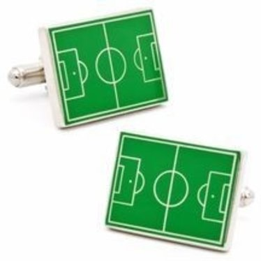 Soccer Field Cufflinks