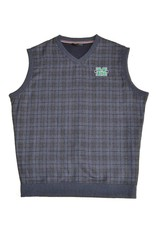 Marshall University Windowpane Plaid Vest