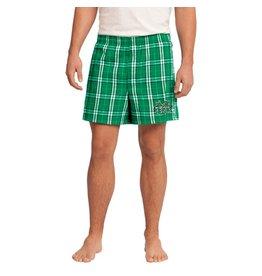 Marshall University Men's Plaid Boxer Shorts