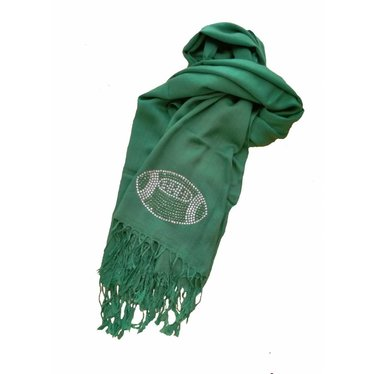 Bling Football Scarf
