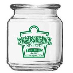 Marshall University 8 oz Storage Jar