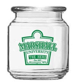Marshall University 8 oz Storage Jar