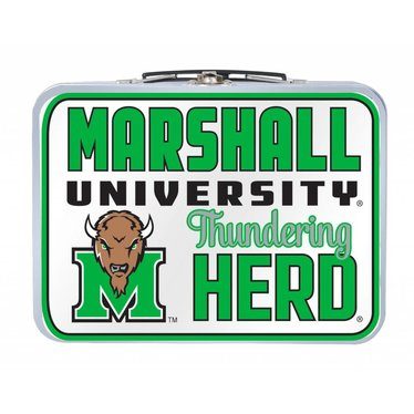 Marshall University Vintage Metal Lunch Box