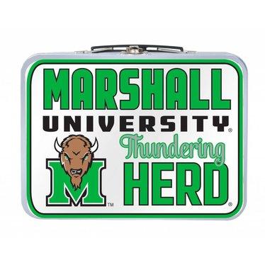 Marshall University Vintage Metal Lunch Box