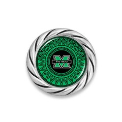 Marshall University Woven Snap