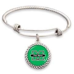 Marshall University Wire Wrap Memory Bracelet