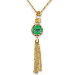 Marshall University Gold Tassel Necklace