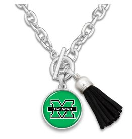 Marshall University Tassel Necklace
