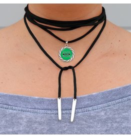 Marshall University Suede Wrap Choker
