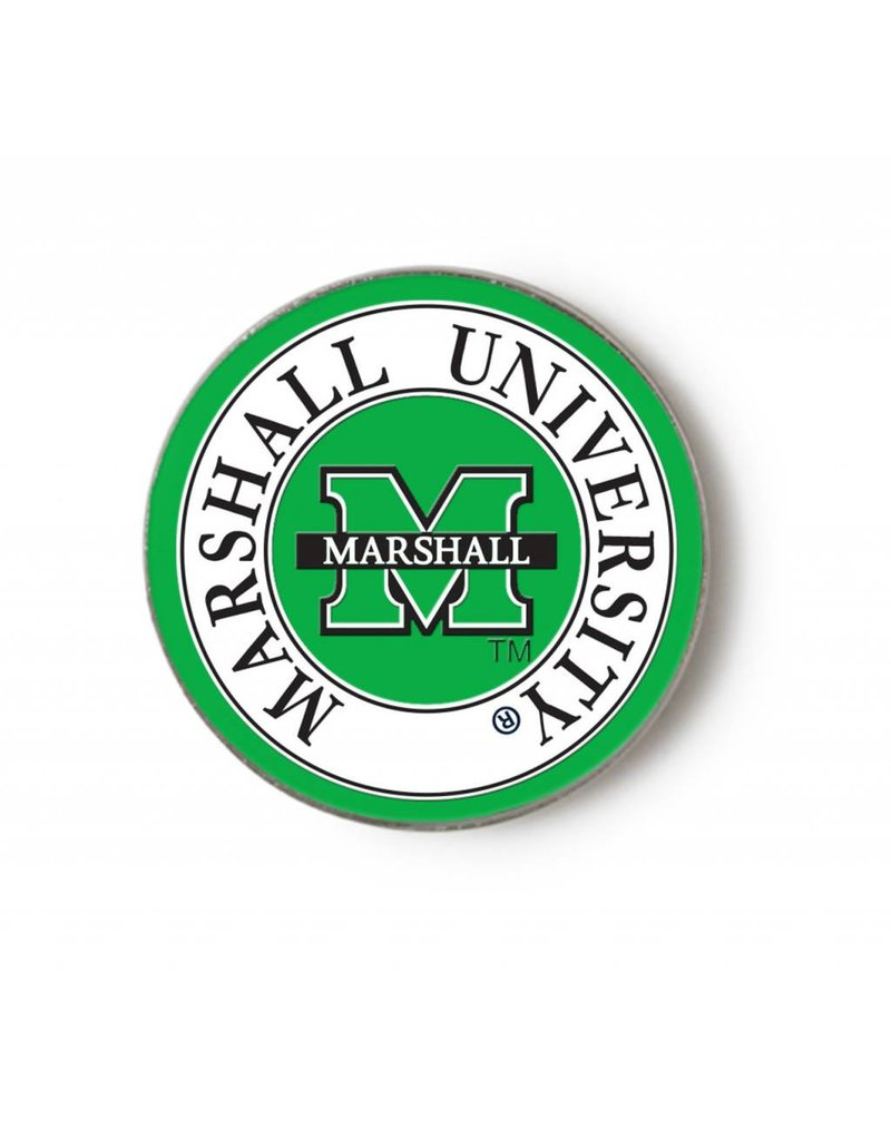 Marshall University Round Lapel Pin
