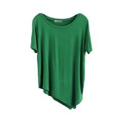 Beautiful Basics Collection Asymmetric Tee Shirt