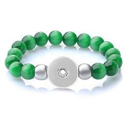 Moonstone Snap Bracelet
